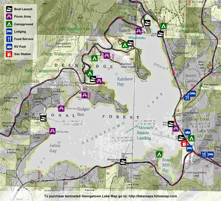 Camping, Campgrounds & RV Parks « Georgetown Lake Montana