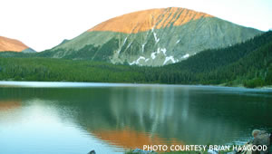 Storm Lake Sunrise