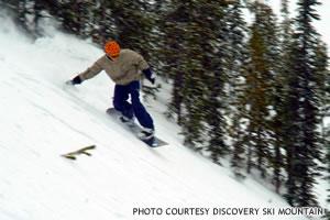 Snowboarding Discovery Ski