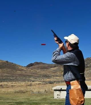 Trap Shooting 171 Georgetown Lake Montana